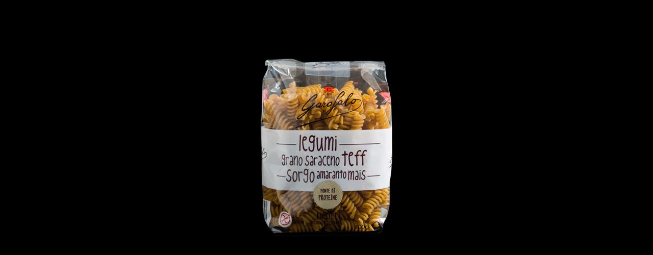 Legumi e cereali senza glutine   Fusilli