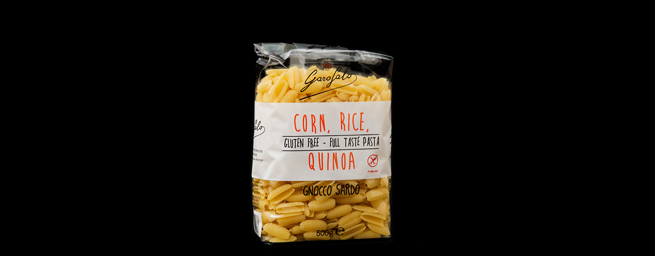Type of pasta - short   Gnocco sardo