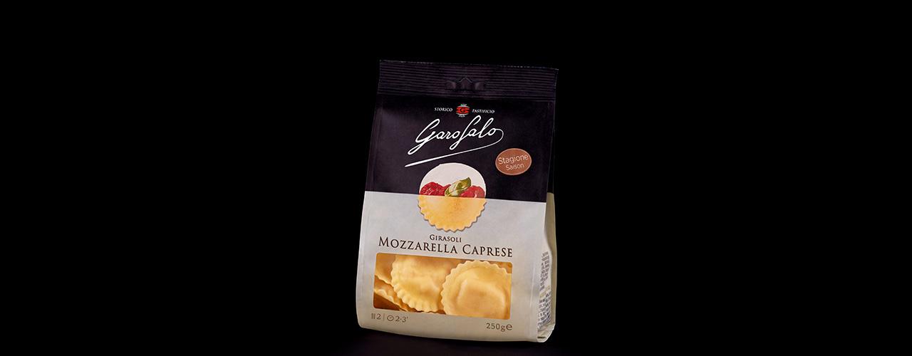 Pasta Fresca   Girasoli mozzarella caprese