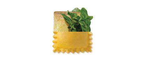 Ravioli basilico e pecorino
