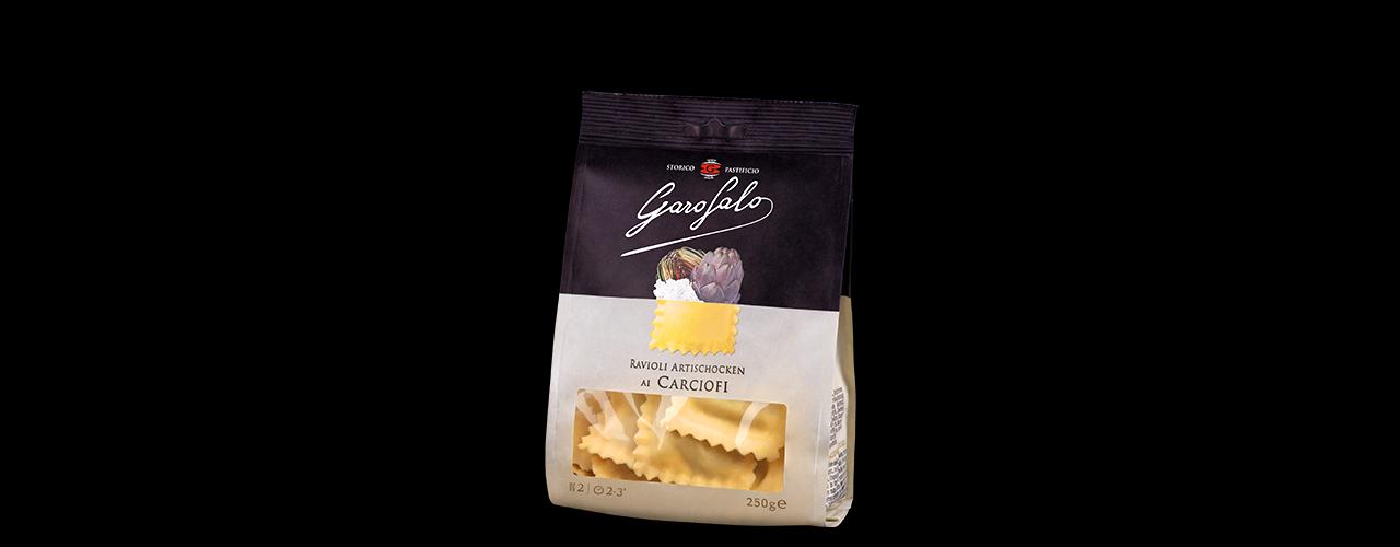Färsk Pasta Fylld   Ravioli artischocken ai carciofi