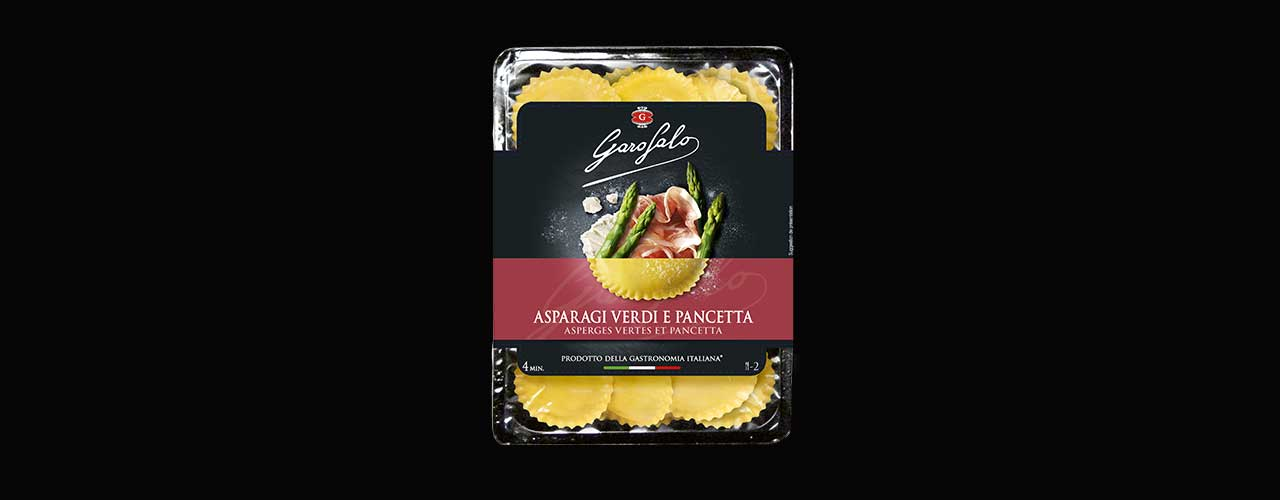 Pâtes Fraîches   Asperges vertes et Pancetta