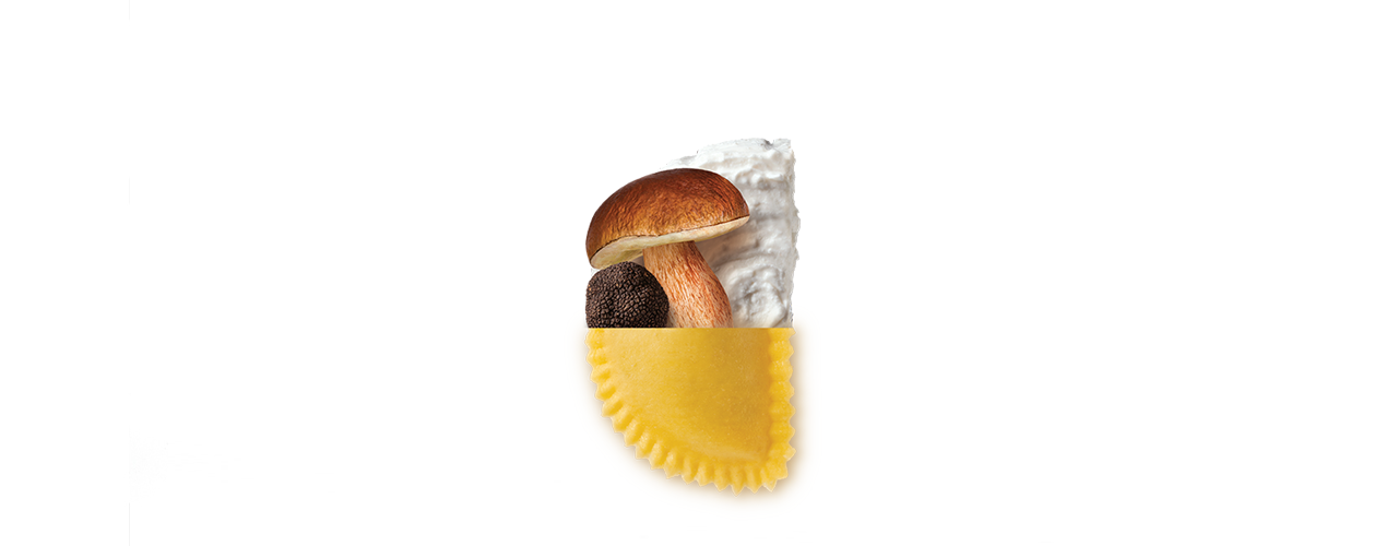 Pasta Fresca Ripiena   Mezzelune Porcini e Tartufo