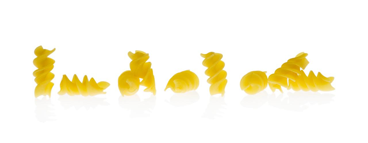 Korte vormen Glutenvrij   Fusillone