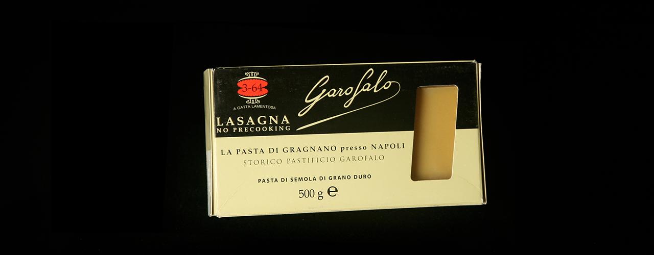 Pâtes longues 3-64 Lasagna liscia