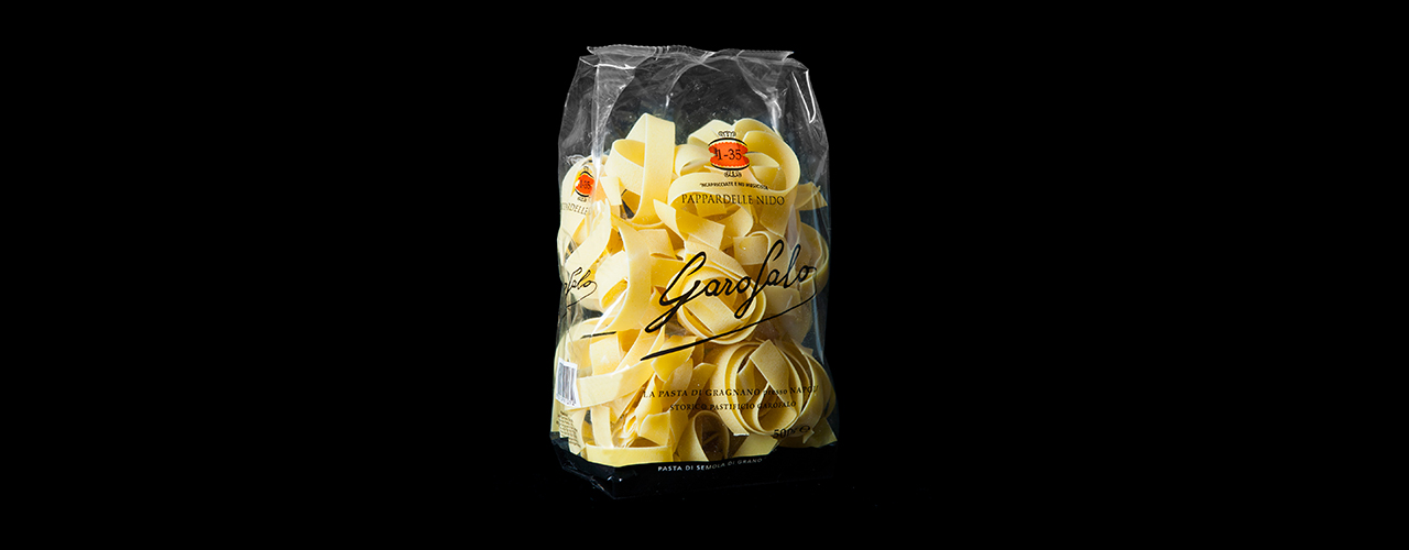 Speciality cuts 1-35 Pappardelle nido
