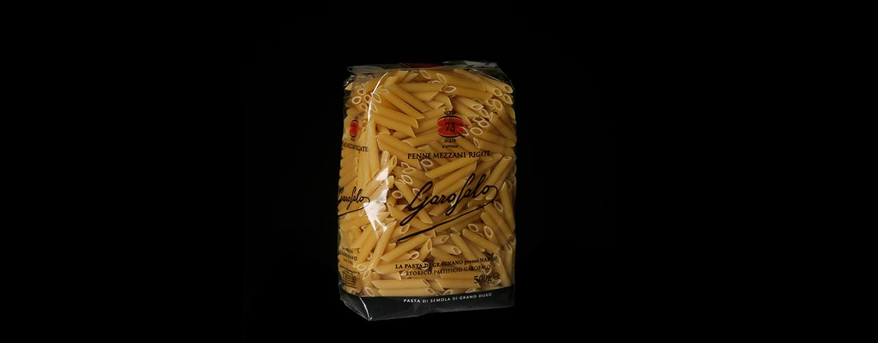 Pasta Corta 73 Penne mezzani rigate