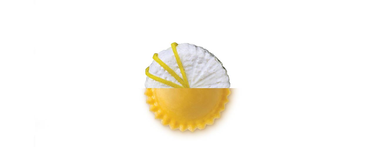 Pasta Fresca Ripiena   Girasoli ricotta e limone